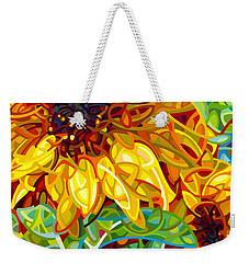 Summer In The Garden Weekender Tote Bag by Mandy Budan