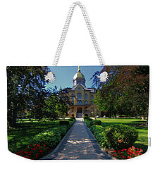 Summer On Notre Dame Campus Weekender Tote Bag by Dan Sproul