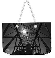 Summer Sun On Shelby Street Bridge Weekender Tote Bag by Dan Sproul