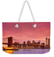 Sundown City Weekender Tote Bag by Midori Chan