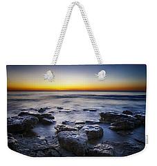 Sunrise At Cave Point Weekender Tote Bag by Scott Norris