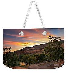 Sunrise At Woodhead Park Weekender Tote Bag by Robert Bales