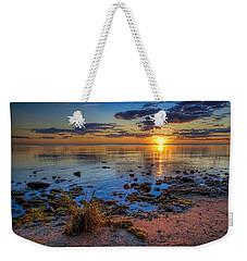 Sunrise Over Lake Michigan Weekender Tote Bag by Scott Norris