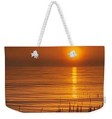 Sunrise Through The Fog Weekender Tote Bag by Scott Norris