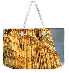 Sunset On The Abbey  Weekender Tote Bag by Connie Handscomb