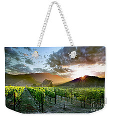 Wine Country Weekender Tote Bag by Jon Neidert