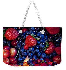 Super Healthy Weekender Tote Bag by Alixandra Mullins