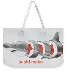 Sushi Mako Weekender Tote Bag by Eric Fan