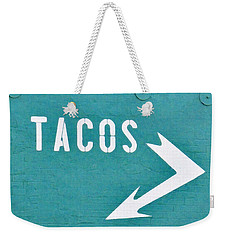 Tacos Weekender Tote Bag by Art Block Collections