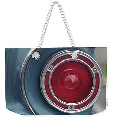 Tail Light Ford Falcon 1961 Weekender Tote Bag by Don Spenner