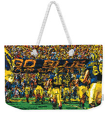 Take The Field Weekender Tote Bag by John Farr