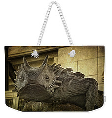 Tcu Horned Frog Weekender Tote Bag by Joan Carroll