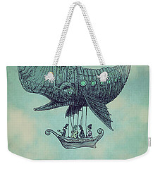 Tea At Two Thousand Feet Weekender Tote Bag by Eric Fan