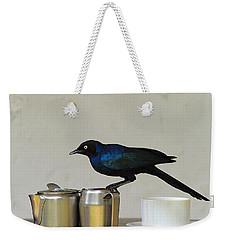 Tea Time In Kenya Weekender Tote Bag by Tony Beck