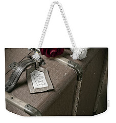 Teddy Wants To Travel Weekender Tote Bag by Joana Kruse