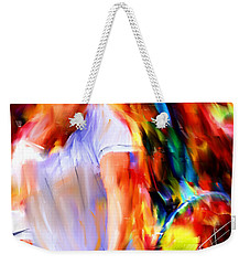 Tennis II Weekender Tote Bag by Lourry Legarde