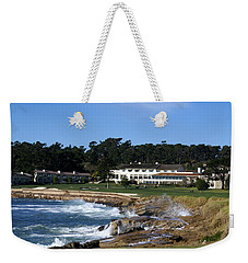 The 18th At Pebble Beach Weekender Tote Bag by Barbara Snyder