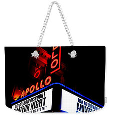 The Apollo Theater Weekender Tote Bag by Ed Weidman