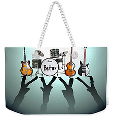 The Beatles Weekender Tote Bag by Lena Day
