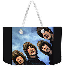 The Beatles Rubber Soul Weekender Tote Bag by Paul Meijering
