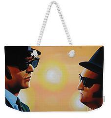 The Blues Brothers Weekender Tote Bag by Paul Meijering