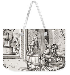 The Brewer Weekender Tote Bag by French School