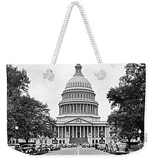 The Capitol Building Weekender Tote Bag by Underwood Archives