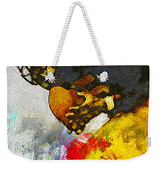 The Catch The Hands Weekender Tote Bag by John Farr