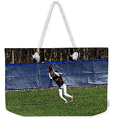 The Catch With Watercolor Effect Weekender Tote Bag by Frank Romeo