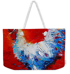 The Chicken Of Bresse Weekender Tote Bag by Mona Edulesco