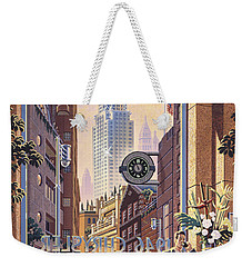 The Chrysler Weekender Tote Bag by Michael Young