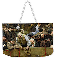 The Cockfight Weekender Tote Bag by Remy Cogghe