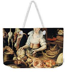 The Cook Weekender Tote Bag by Pieter Cornelisz van Rijck