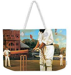 The Cricketers Weekender Tote Bag by Peter Green