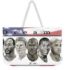 the Dream Team Weekender Tote Bag by Tamir Barkan