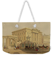 The Exterior Of Apsley House, 1853 Weekender Tote Bag by English School