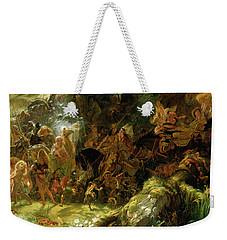 The Fairy Raid Weekender Tote Bag by Sir Joseph Noel Paton