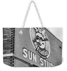 The Famous Sun Studio In Memphis Tennessee Weekender Tote Bag by Dan Sproul