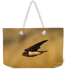 First Swallow Of Spring Weekender Tote Bag by Robert Frederick