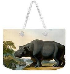 The Hippopotamus, 1804 Weekender Tote Bag by Samuel Daniell