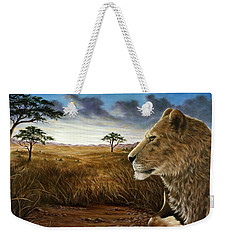 The Huntress Weekender Tote Bag by Rick Bainbridge