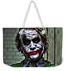 The Joker Weekender Tote Bag by Florian Rodarte