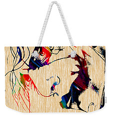 The Joker Heath Ledger Collection Weekender Tote Bag by Marvin Blaine