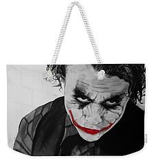 The Joker Weekender Tote Bag by Robert Bateman