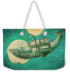 The Journey Weekender Tote Bag by Eric Fan