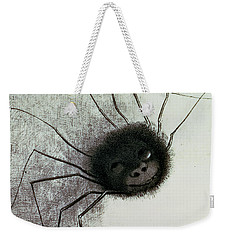 The Laughing Spider Weekender Tote Bag by Odilon Redon