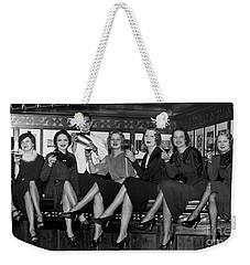 The Lucky Bartender Weekender Tote Bag by Jon Neidert