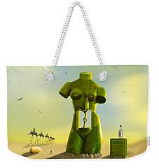 The Nightstand Weekender Tote Bag by Mike McGlothlen