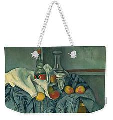 The Peppermint Bottle Weekender Tote Bag by Paul Cezanne