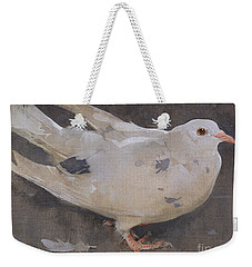The Pigeon Weekender Tote Bag by Joseph Crawhall